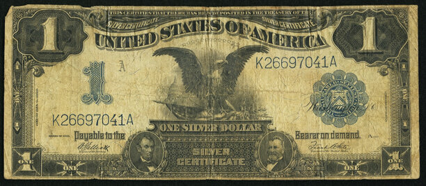 Fr. 235 $1 1899 Silver Certificate Very Good.. ... Large Size | Lot ...