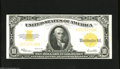 Large Size:Gold Certificates, Fr. 1173 $10 1922 Gold Certificate Very Fine-Extremely Fine. This beautiful mid-grade example delivers vibrant colors with i...