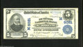 National Bank Notes:Missouri, Saint Joseph, MO - $5 1902 Plain Back Fr. 599 The Burnes NB Ch. #(M)8021 This note which retains much snap on vibrantl...