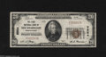 National Bank Notes:Pennsylvania, New Wilmington, PA - $20 1929 Ty. 1 The First NB Ch. # 9554 This isone of only 6 Small in the Kelly census with this e...