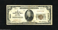 National Bank Notes:Pennsylvania, Sayre, PA - $20 1929 Ty. 1 The Merchants & Mechanics NB Ch. # 5684 Anyone looking to add this town to their collection...