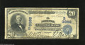 National Bank Notes:Virginia, Norfolk, VA - $20 1902 Date Back Fr. 642 Norfolk NB Ch. # (S)3368This note becomes only the second $20 Date Back known...