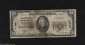 National Bank Notes:Washington, Seattle, WA - $20 1929 Ty. 1 The Dexter Horton NB Ch. # 11280 Anote for the budget minded collector. Some staining an...