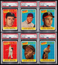 "Baseball Cards:Lots, 1958 Topps Baseball ""All-Star"" PSA Graded Collection (6).. ..."
