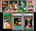 Basketball Cards:Lots, 1970 - 1986 Basketball Card Collection (7). . ...