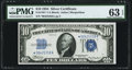 Small Size:Silver Certificates, Fr. 1701* $10 1934 Silver Certificate. PMG Choice Uncirculated 63 EPQ.. ...