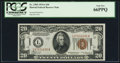 Small Size:World War II Emergency Notes, Fr. 2305 $20 1934A Hawaii Federal Reserve Note. PCGS Gem New 66PPQ.. ...