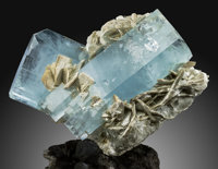 Aquamarine Shigar Valley, Skardu District, Baltistan Gilgit-Baltistan (Northern Areas)
