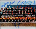 Autographs:Photos, 1966 Green Bay Packers Team Signed Photo. Super Bowl I Cha...