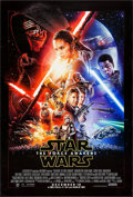 "Movie Posters:Science Fiction, Star Wars: Episode VII - The Force Awakens (Walt Disney Studios,2015). One Sheet (27"" X 40"") DS Advance. Science Fiction.. ..."