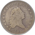 Early Half Dollars, 1794 50C O-104, T-11, R.5, Good 4 PCGS. CAC....
