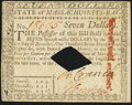 Colonial Notes:Massachusetts, Massachusetts May 5, 1780 $7 Diamond Cancel About New.. ...