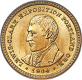 Commemorative Gold, 1904 G$1 Lewis and Clark Gold Dollar MS66 PCGS....