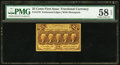 Fractional Currency:First Issue, Fr. 1279 25¢ First Issue PMG Choice About Unc 58 EPQ.. ...