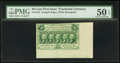 Fractional Currency:First Issue, Jumbo Sheet Margins Fr. 1312 50¢ First Issue PMG About Uncirculated50 EPQ.. ...