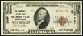 National Bank Notes:Pennsylvania, Quarryville, PA - $10 1929 Ty. 1 The Quarryville NB Ch. # 3067. ...