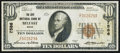 National Bank Notes:Maine, Belfast, ME - $10 1929 Ty. 1 The City NB Ch. # 7586. ...