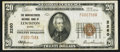 National Bank Notes:Maine, Lewiston, ME - $20 1929 Ty. 1 The Manufacturers NB Ch. # 2260. ...
