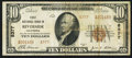 National Bank Notes:California, Riverside, CA - $10 1929 Ty. 2 The NB Ch. # 8377. ...