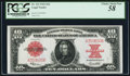 Large Size:Legal Tender Notes, Fr. 123 $10 1923 Legal Tender PCGS Choice About New 58.. ...