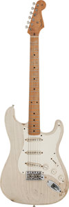 Musical Instruments:Electric Guitars, Circa 2004 Fender-Copy 'Parts-caster' Blonde Solid Body ElectricGuitar, Serial # N/A....
