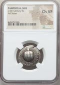 Ancients:Greek, Ancients: PAMPHYLIA. Side. Ca. 430-400 BC. AR stater. NGC ChoiceVF....