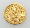 Ancients:Byzantine, Ancients: Phocas (AD 602-610). AV solidus (4.46 gm). XF, lt.smoothing....
