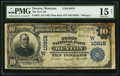 National Bank Notes:Montana, Denton, MT - $10 1902 Plain Back Fr. 632 The First NB Ch. # (W)10819. ...