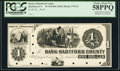 Obsoletes By State:Connecticut, Hartford, CT- Bank of Hartford County $1 18__ as G2 Proof. ...