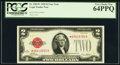 Fr. 1501* $2 1928 Legal Tender Note. PCGS Very Choice New 64PPQ