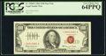 Small Size:Legal Tender Notes, Fr. 1550* $100 1966 Legal Tender Star Note. PCGS Very Choice New 64PPQ.. ...