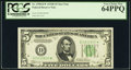 Fr. 1958-D* $5 1934B Federal Reserve Star Note. PCGS Very Choice New 64PPQ
