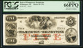 Obsoletes By State:Delaware, Wilmington, DE- Bank of Wilmington and Brandywine $5 18__ Proof. ...