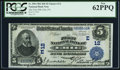 National Bank Notes:Pennsylvania, Erie, PA - $5 1902 Date Back Fr. 590 The First NB Ch. # (E)12. ...