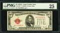 Small Size:Legal Tender Notes, Fr. 1526* $5 1928A Legal Tender Note. PMG Very Fine 25.. ...