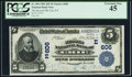National Bank Notes:Pennsylvania, Erie, PA - $5 1902 Date Back Fr. 590 The Second NB Ch. # (E)606. ...
