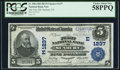 National Bank Notes:Pennsylvania, Sunbury, PA - $5 1902 Plain Back Fr. 598 The First NB Ch. #(E)1237. ...