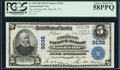 National Bank Notes:Tennessee, Nashville, TN - $5 1902 Plain Back Fr. 598 The American NB Ch. #3032. ...