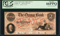 Obsoletes By State:New Jersey, Orange, NJ- Orange Bank in the County of Essex $2 18__ as G12a Wait 1803 Proof. ...