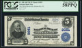 National Bank Notes:Pennsylvania, Brookville, PA - $5 1902 Plain Back Fr. 598 The NB of BrookvilleCh. # 3051. ...
