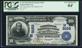 National Bank Notes:Wisconsin, Madison, WI - $10 1902 Date Back Fr. 618 The Commercial NB Ch. # (M)9153. ...