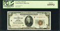 Fr. 1870-A $20 1929 Federal Reserve Bank Note. PCGS Gem New 65PPQ