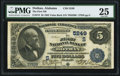 National Bank Notes:Alabama, Dothan, AL - $5 1882 Value Back Fr. 574 The First NB Ch. # (S)5249. ...