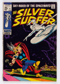 The Silver Surfer #4 (Marvel, 1969) Condition: GD