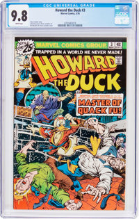 Howard the Duck #3 (Marvel, 1976) CGC NM/MT 9.8 White pages