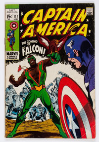 Captain America #117 (Marvel, 1969) Condition: VG-