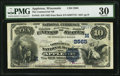 National Bank Notes:Wisconsin, Appleton, WI - $10 1882 Date Back Fr. 545 The Commercial NB Ch. # (M)2565. ...