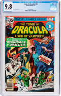 Bronze Age (1970-1979):Horror, Tomb of Dracula #46 (Marvel, 1976) CGC NM/MT 9.8 Off-white to whitepages....