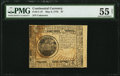 Continental Currency May 9, 1776 $7 PMG About Uncirculated 55 Net