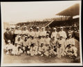 Baseball Collectibles:Photos, 1918 Boston Red Sox Type IV Team Photograph with Babe Ruth. Last World Series Title for 86 Years.. ...
